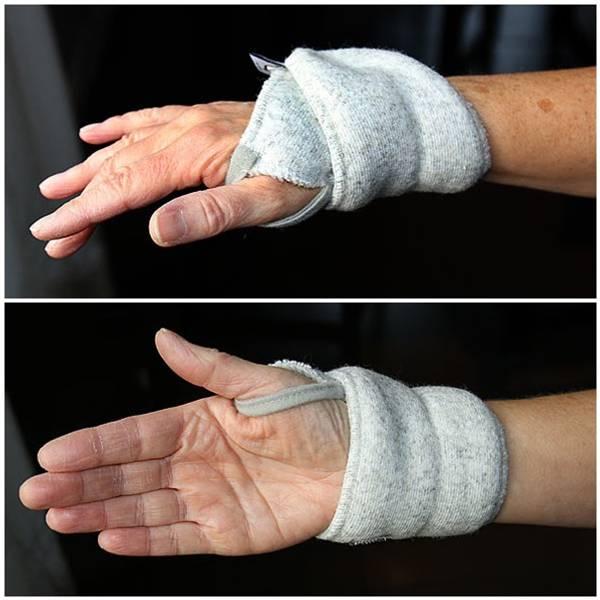 Bilde av Håndledd-varmer i merinoull