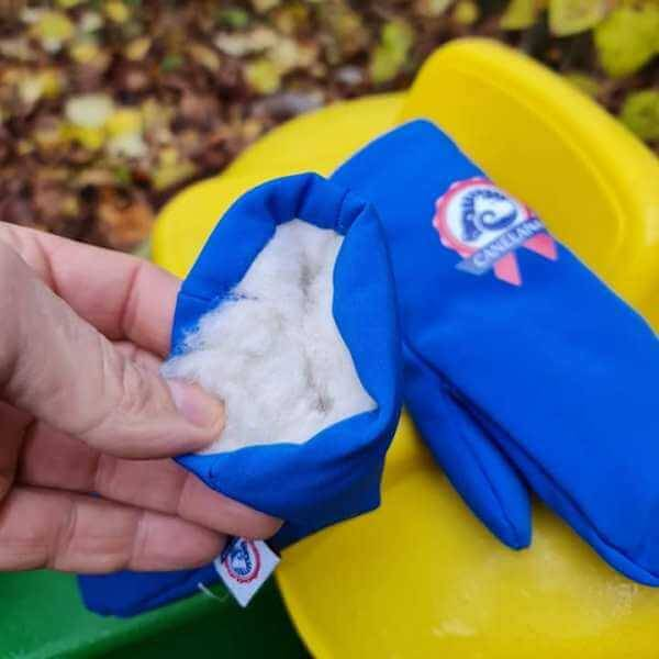 Image of BEAR - Windproof/water-repellent mittens with